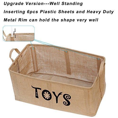 Zoom IMG-3 gimars cesto contenitore per giocattoli