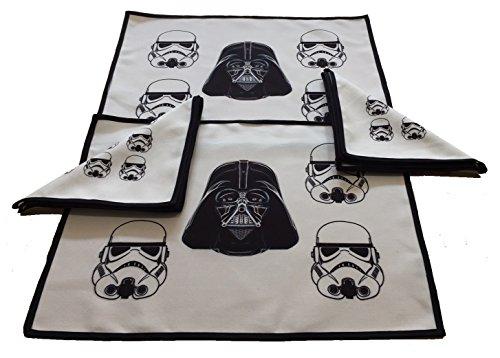 Mantel Individual de tela / Salvamanteles y Servilleta de tela Darth Vader...