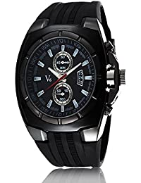 iSweven isweven V6 series trend fancy strap men's sports watch Analogue Black Unisex Wrist Watch W1013aa