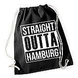 Straight Outta Hamburg Gymsack Black Certified Freak