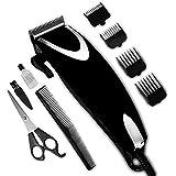 SAPIR SP-1810-U Haarschneidemaschine Edelstahl-Klingen Klinge-Controller Soft-Touch Zubehör