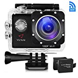 Victure Action Kamera WIFI 14MP Full HD 1080P Unterwasserkamera Sport Action Camera Cam 2.0 Zoll...