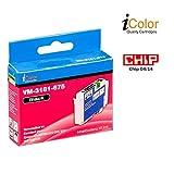 iColor Tinte: Patrone für Epson (ersetzt T1812 T1813 T1814 / 18XL), black (Druckerpatronen)