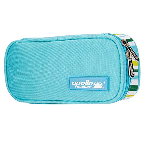 Diabetikertasche ONEGenug Kühltasche Insulin Tasche für Diabetes Spritzen,Insulininjektion und Medikamente 20x4x9cm (leicht Blau)