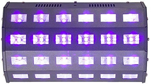 IBIZA LED UV24 - 24 x 3 Watt UV LED Fluter