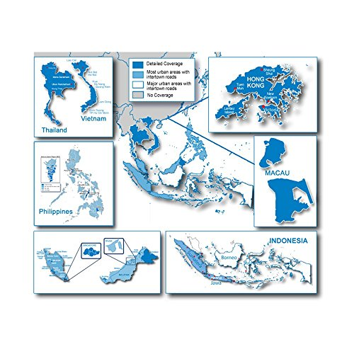 Garmin 010-11652-00 microSD/SD Karte City Navigator Southeast Asia NT - HERE - 00 Garmin City Navigator