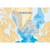 Navionics Plus 20XG Greenland & Iceland Marine & Lake Charts on SD/MSD