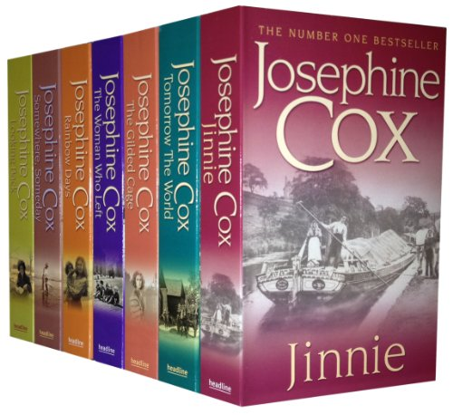 Josephine Cox Series 7 Books Pack Collection New Set, Tomorrow The World, Jinnie (Season New Collection Womens)