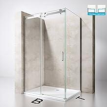 Suchergebnis auf Amazon.de für: duschkabine 110x90 | {Duschabtrennung schiebetür 69}