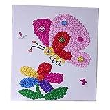 Animal Pattern Style Peint à la main / Parent-enfant Entertainment / Butterfly