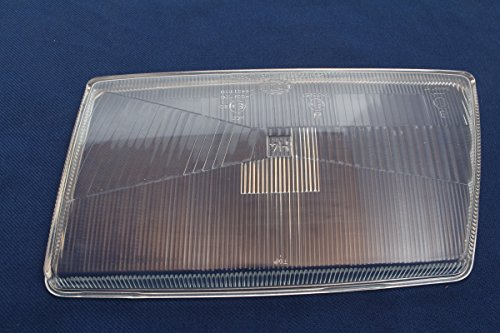 vintage13.de Streuscheibe H4 Scheinwerfer Hauptscheinwerfer Audi 100 Hella 9ES 131 955-001