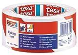 TESA 60760-00088-15 - Cinta Señalización temporal serie 60760-33m x 50mm Roja/Blanca