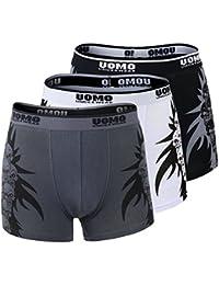 f51c608b01 Boxershorts Men Herren 3er Set Unterwäsche Unterhosen Retroshorts Männer  0821
