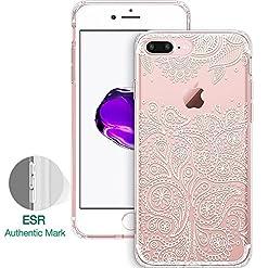 Capa para iPhone 7 Pluscom mandala Paisley Grenache