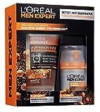 L'Oréal Men Expert Hydra Energy Geschenkset, für Männer 24H Feuchtigkeitspflege mit Guarana (50...