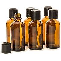 Leerflaschen-Set 50 ml, 6 Stück mit Etiketten zum Selbstbeschriften preisvergleich bei billige-tabletten.eu