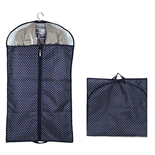 QFFL Sac de compression sous vide Vêtements cache-poussière, vêtements suspendus sac à poussière, ménage épaississement rides résistant à l'humidité 9 modèles Sac de protection (MODÈLE : G)
