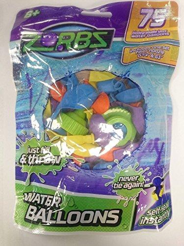 Zorbs zz000201-au cierre autoadhesivo agua globo