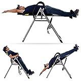 Cooshional table d'inversion entraînement du dos Gravity Trainer adulte poids max 136kg