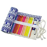 Da. WA 36/48/72agujeros Canvas Pencil Wrap Funda Cubre enrollable...