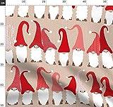 Zwerg, Skandinavisch, Weihnachten, Winter, Gnomen Design