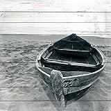 Cuadros Lifestyle Wandbild aus Holz | Holzbild | Shabby-Look | Landhaus | Vintage | Geschenk, Größe:ca. 50x50 cm