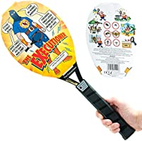 Sourcing4U Limited The Executioner Range Fly Killer Mosquito Swatter Racket Wasp Bug Zapper Indoor Outdoor