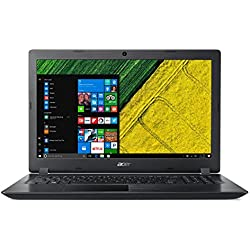 "Acer Aspire 3 A315-51-3834 - Ordenador portátil DE 15.6"" HD (Intel Core i3-7020U, 8 GB RAM, 1000 GB HDD, UMA, Windows 10 Home) Negro - Teclado QWERTY Español"