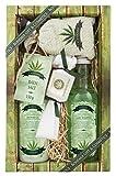 Luxus Cannabis Spa Geschenk Pack–Original PURE Naturkosmetik