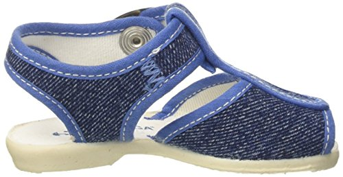 Superga Kinder-Unisex 1200-Cotj Schuhe mit Riemchen, Rosa Blu (Jeans)