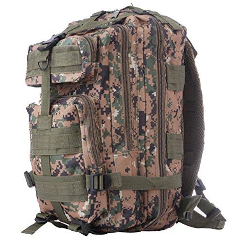 Outdoor Camouflage Rucksack Army Packs Bergsteigen Tasche Freizeit Rucksack,R E