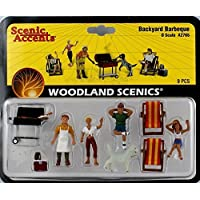 Scenic Accents Backyard Barbeque (4 Figures, 2