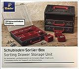 TCM Tchibo cajones caja con compartimentos y asa y clic 56100-Archivador para herramientas
