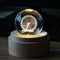 Holz Nachtlicht, romantische Spieluhr Tischlampe, Geburtstagsgeschenk preisvergleich bei billige-tabletten.eu