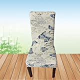 YTDE Floral Style Pattern Multifunctional Chair Cover Hotel Wedding Dinning Chair Case Stretch Elastic Spandex Polyester Cloth 20161361 1pc Chair Cover