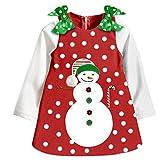 Mädchen Weihnachtskostüm Kleid