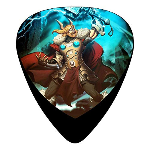 Thunder Guitar Picks Celluloid Cool Boys Complete Assorted 12 Pack - Surface Thunder