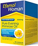 Efamol 500mg Pure Evening Primrose Oil - Pack of 90 Capsules by Queenswood Natural Foods Ltd