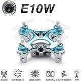 ONCHOICE E10W Mini Wifi FPV Quadrocopter Drohne mit HD Kamera Spielzeug Weinachten Geschenk
