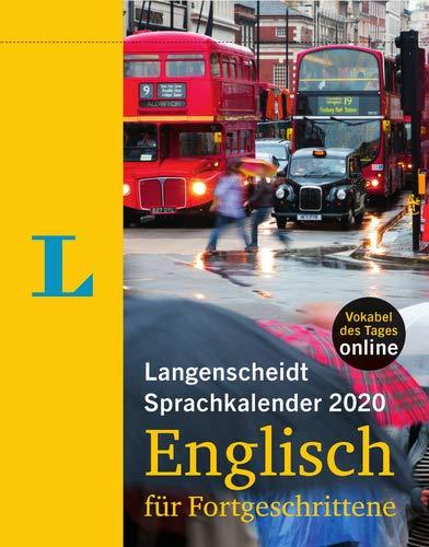 Langenscheidt Sprachkalender 2020 Englisch für Fortgeschrittene - Abreißkalender