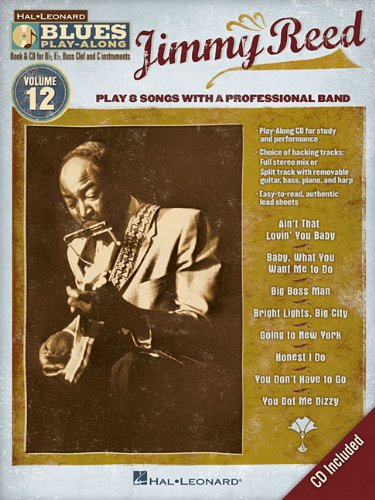 Jimmy Reed: Blues Play-Along Volume 12 (Hal Leonard Blues Play-Along)