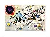 Wassily Kandinsky - Composition VIII, Kunstdruck, 60 x 80 cm