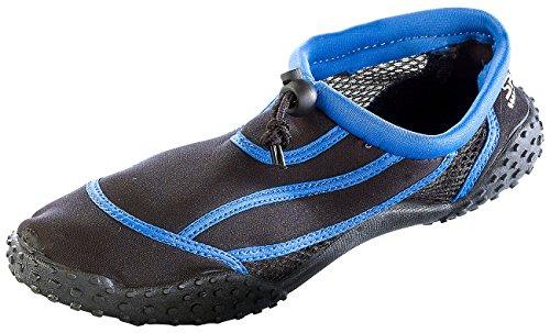 Speeron Barfuß-Schuhe: Strandschuh mit Rutschfester Profilsohle, Gr. 40 (Segelschuhe)