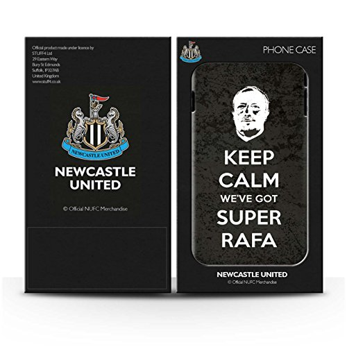 Offiziell Newcastle United FC Hülle / Matte Snap-On Case für Apple iPhone SE / Pack 8pcs Muster / NUFC Rafa Benítez Kollektion Ruhig Bleiben
