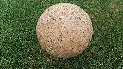Corcho Ball Balones de Fútbol Tamaño 5Pear parte pelota piel vegana EM corcho plástico pelotas