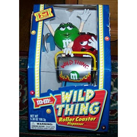 M&M's Candy Dispenser - Wild Things Roller-Coaster - Limited Edition by M & M's