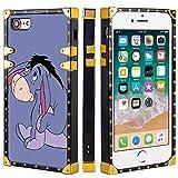Coque de Protection carrée pour iPhone 7 et iPhone 8 4,7' Winnie l'ourson Bourriquet