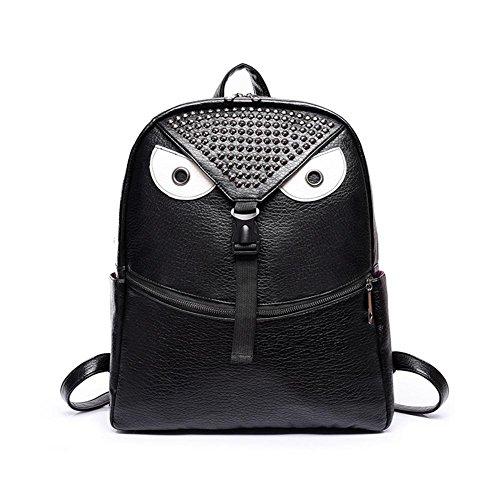 GBT Karikaturschulterbeutel-Handtaschenart und weise Black