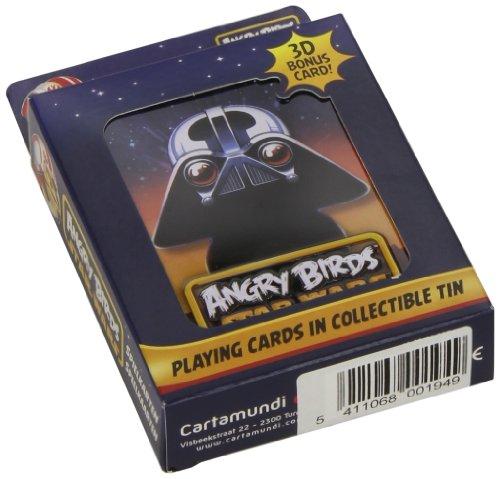 Cartamundi 22500194 - Angry Birds Star Wars Spielkarten, Darth (Angry Wars Darth Vader Star Bird)