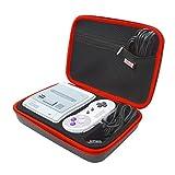 SNES Classic Mini Tasche,EVA Wasserdichte Hülle / Case / Tragetasche / Aufbewahrungsbeutel für Super Nintendo Classic Mini Konsole (2017), Kontrolleur,HDMI Kabel,Verlängerungskabel und Zubehör